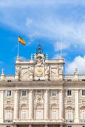 Royal Palace, Madrid, Spain Stock Photos