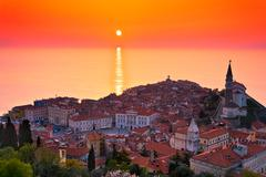 Piran, Slovenia - stock photo