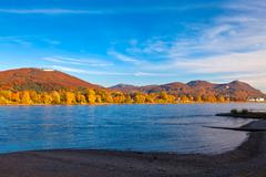 The River Rhine - stock photo