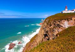 Cabo da Roca, Portugal Stock Photos