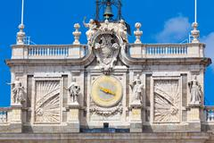 Royal Palace, Madrid, Spain - stock photo