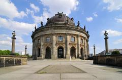 bode museum in berlin - stock photo