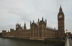 London Parlament - stock photo