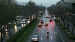 City traffic Stock Footage