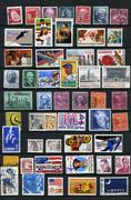 postage stamps - stock photo
