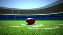American football. Stock Footage