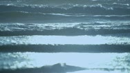 Stock Video Footage of Gentle Aquamarine Waves Full Frame