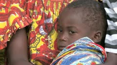 Burkina Faso: Child in Africa Stock Footage