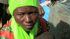 Burkina Faso: Mother/Child Health Stock Footage