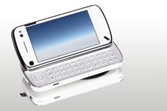 organizer phone - stock photo