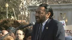 Congressman Al Green Stock Footage