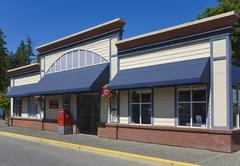 Post office, chemainus, vancouver island, british columbia, canada Stock Photos