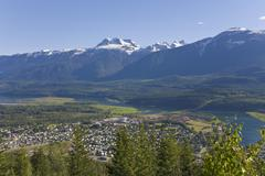 Revelstoke, british columbia, canada Stock Photos