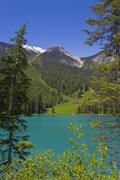 Emerald lake, canadian rockies, british columbia, canada Stock Photos