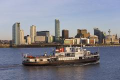 Stock Photo of Mersey ferry