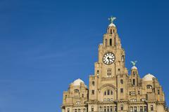 Stock Photo of liver building, liverpool