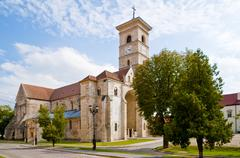 Stock Photo of catholic church in alba iulia