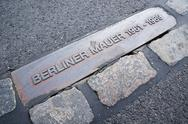 Stock Photo of wall in berlin (berliner mauer)