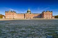Stock Photo of sanssouci palace in potsdam