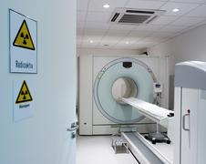 pet/ct scan - stock photo