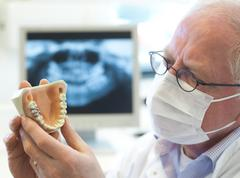 Senior dentist Stock Photos