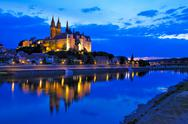 Stock Photo of meissen at night