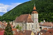 Stock Photo of black church in brasov