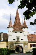 Stock Photo of ecaterina gate in brasov