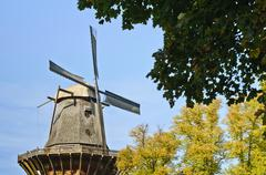 Stock Photo of old windmill in sanssouci park