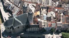 20080621-Briancon-Vieille ville Stock Footage