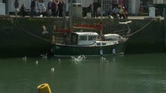 Padstow harbour Stock Footage