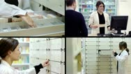 Stock Video Footage of Pharmacy composition