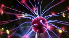 Science ball electricity future Stock Footage