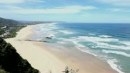 Beach - South Africa - one lonesome person Stock Footage