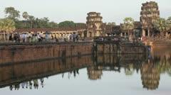 Angkor Wat time lapse Stock Footage