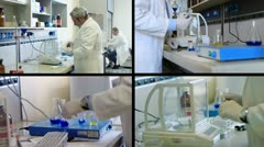 chemist  composition - stock footage