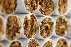 art addicted butt cigaret smoke cigarette market - stock photo