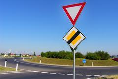 Car art board insurance means transport motor Stock Photos
