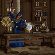Magician Stock Illustration
