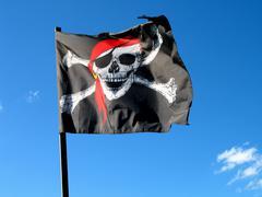 business art banner capital market commerce flag - stock photo