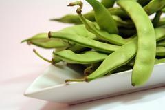 Bean bio biological eat health awareness hull Stock Photos