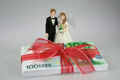 Christmas couple birthday arm band bill bind bow Stock Photos