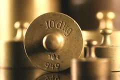 music art balance instrument scale symbol weight - stock photo