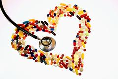 Addict addicted addictive drug body part danger Stock Photos