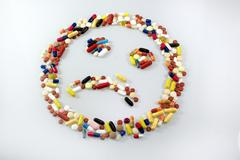 Addict addicted addictive drug alone anger Stock Photos