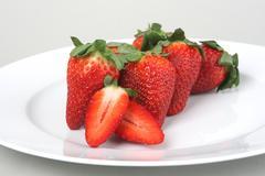 fitness fruit anorexia nervosa berry bio body - stock photo