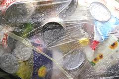 Laukku ekologia suojaa ulkona valokuva kierrätys Kuvituskuvat