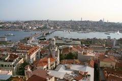 City view europe european metropole old town Stock Photos