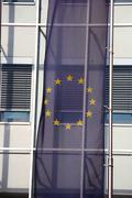 Art banner european flag photo symbol union Stock Photos