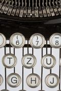 Ancient world keyboard letter photo script type Stock Photos
